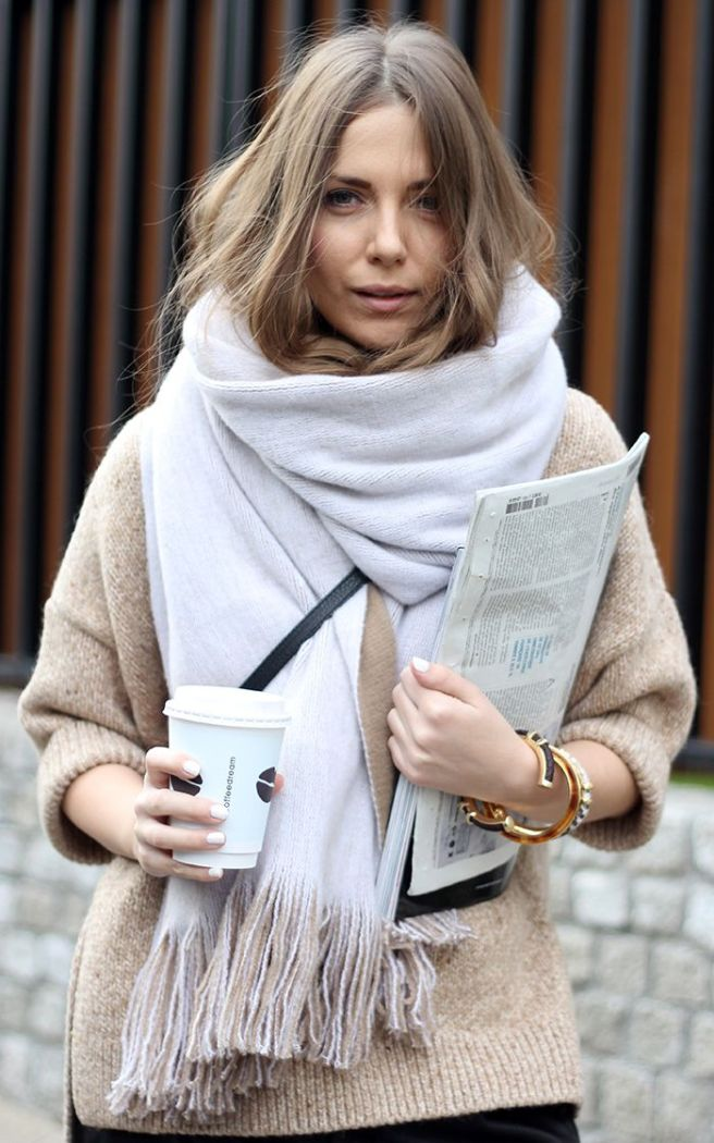 fall fashion style autumn winter scarf