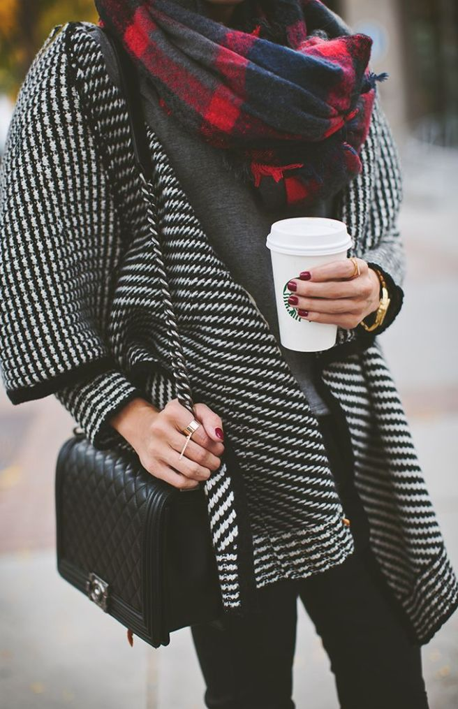 scarf fall winter autumn outfit fashion