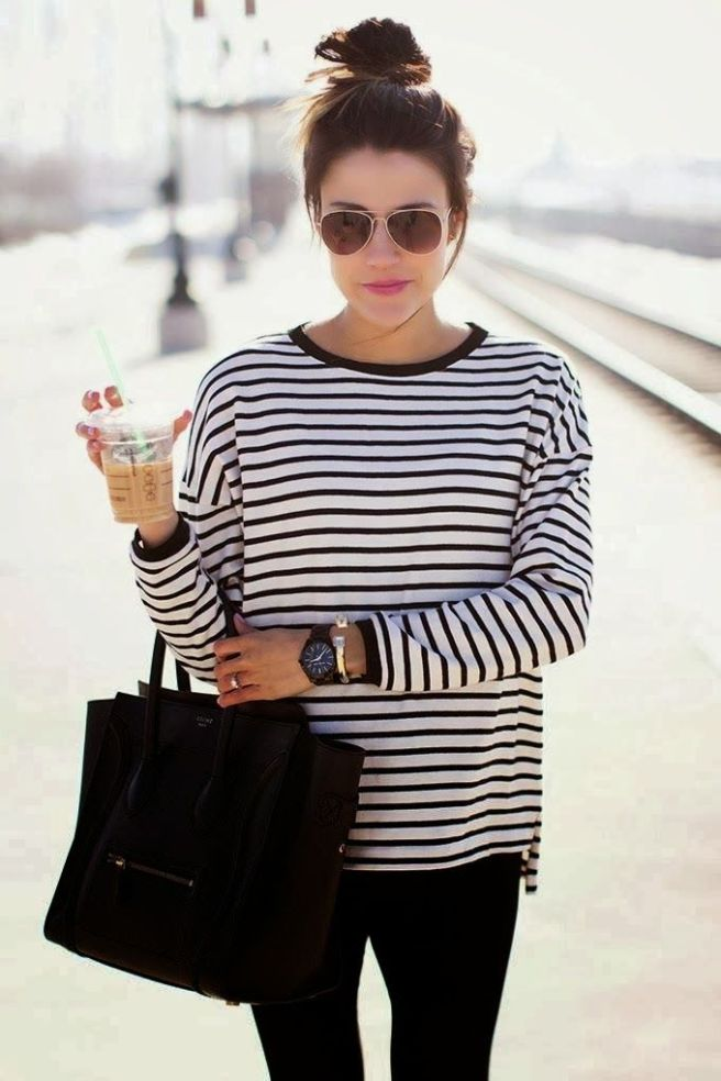 outfit topknot fashion style