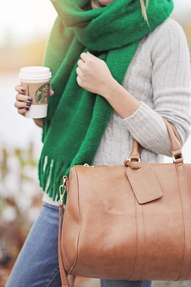 fall fashion scarf style autumn outfit