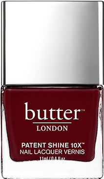fall nail shades - burgundy