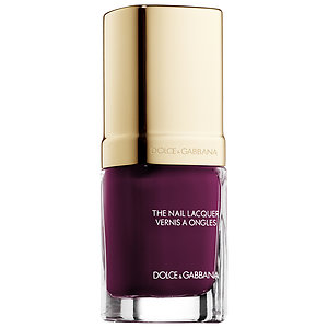 fall nail shade - purple